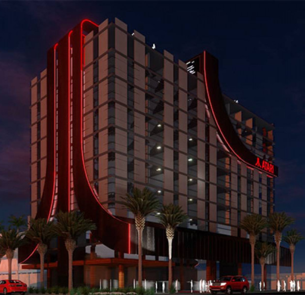 Atari is licensing 8 gaming hotels in the US