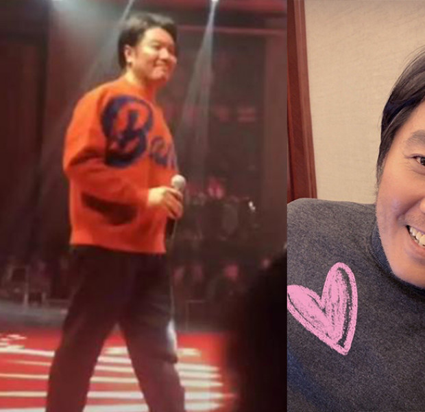 Singaporean singer A-Do gets a little heavier and netizens have opinions