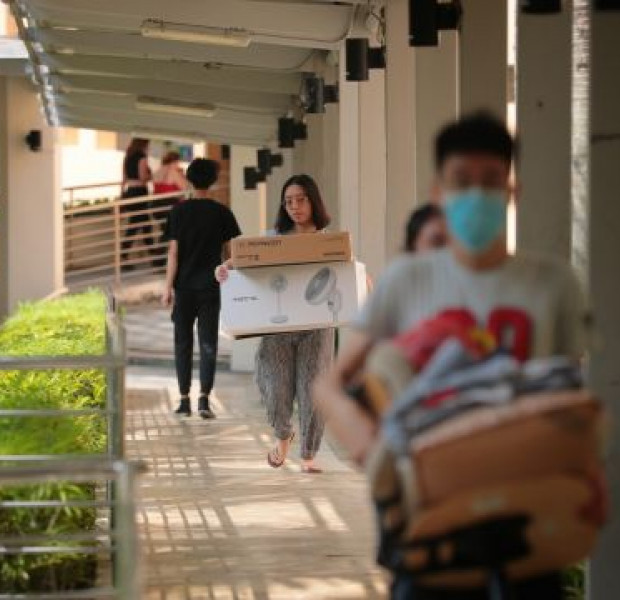 Wuhan virus: University students move out of campus residences designated as quarantine centres