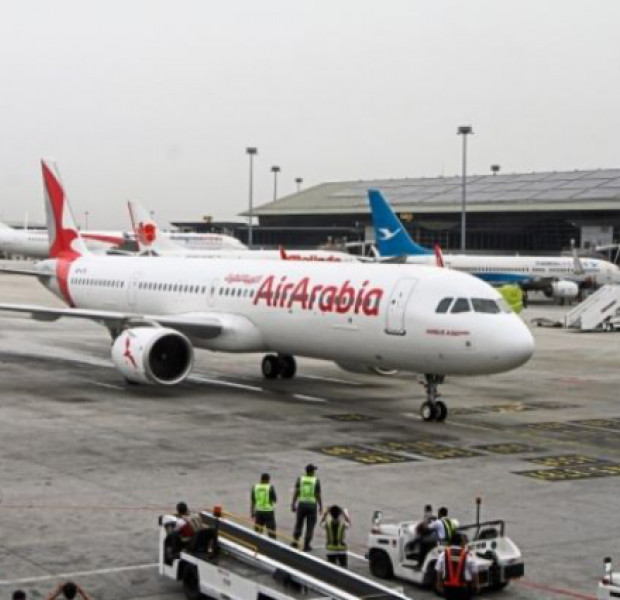 Air Arabia's maiden flight arrives at KLIA