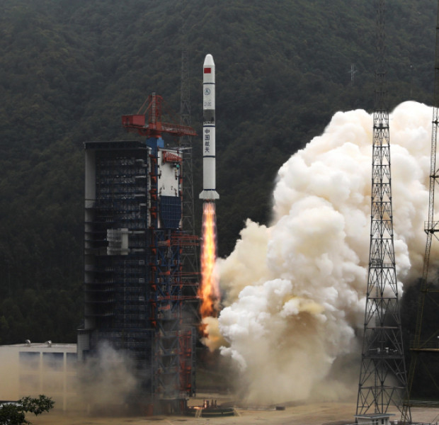 Chinese satellites help record global disasters