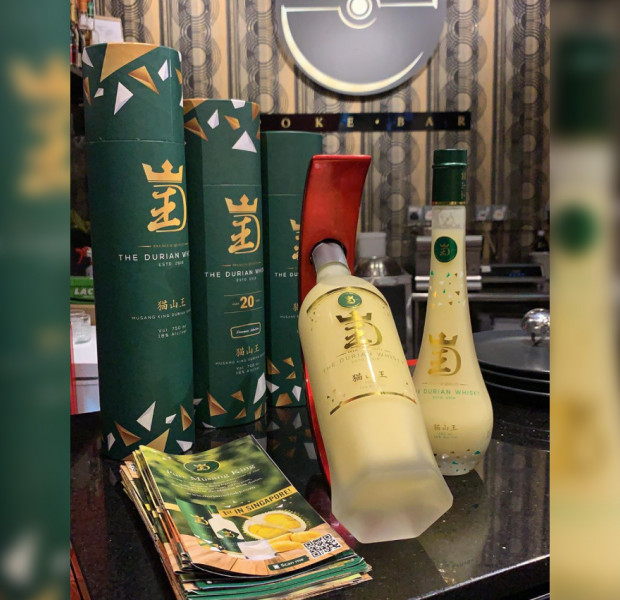 Viral durian whiskey is Malaysia-made, and not actually whiskey at all