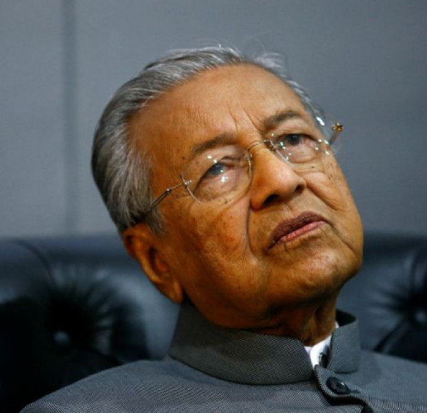 I have other things to think about, says Mahathir