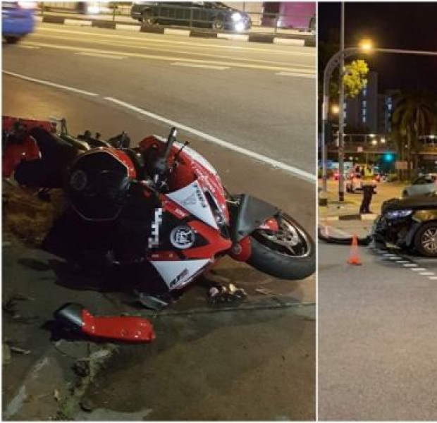 24-year-old motorcyclist dies after accident with car in Tampines