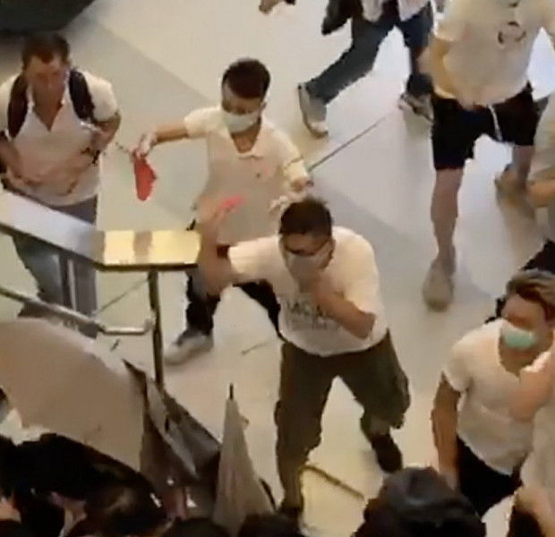 White-clad mob brutally attacks Hong Kong protesters at MTR station, injuring 36