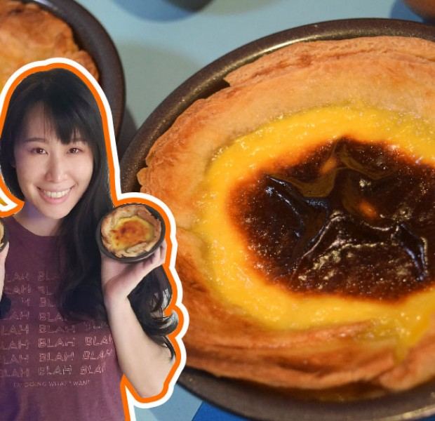 What's Cookin': We made egg tarts using frozen prata