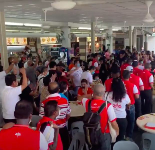 GE2020: Residents get vocal with 'shouting match' at Yishun coffee shop; Lee Hsien Yang heckled at Yio Chu Kang