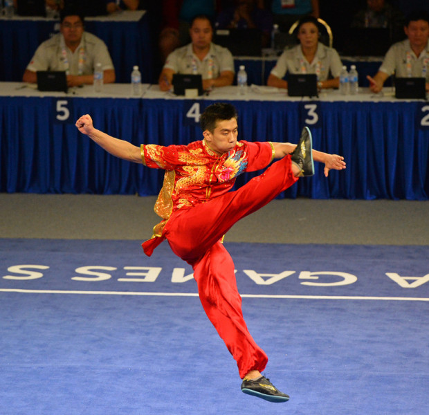 SEA Games: S'pore's Wushu target met on first day