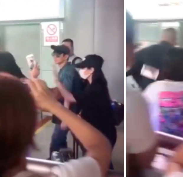 Criticisms after JJ Lin's manager knocks fan's phone to the ground