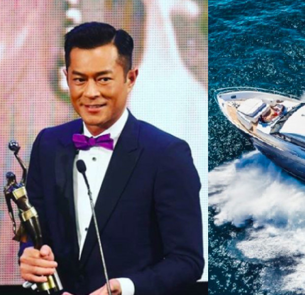 Louis Koo drops $8.7m on luxury yacht for mum