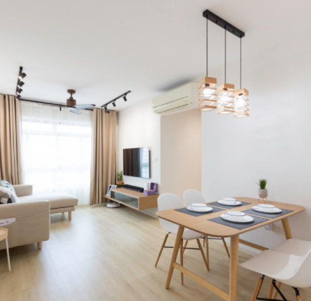 How a tailored layout made this tight 4-room HDB spacious