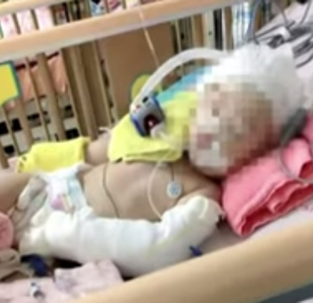 One-year-old Taiwanese girl hospitalised with brain damage; nanny claims ignorance