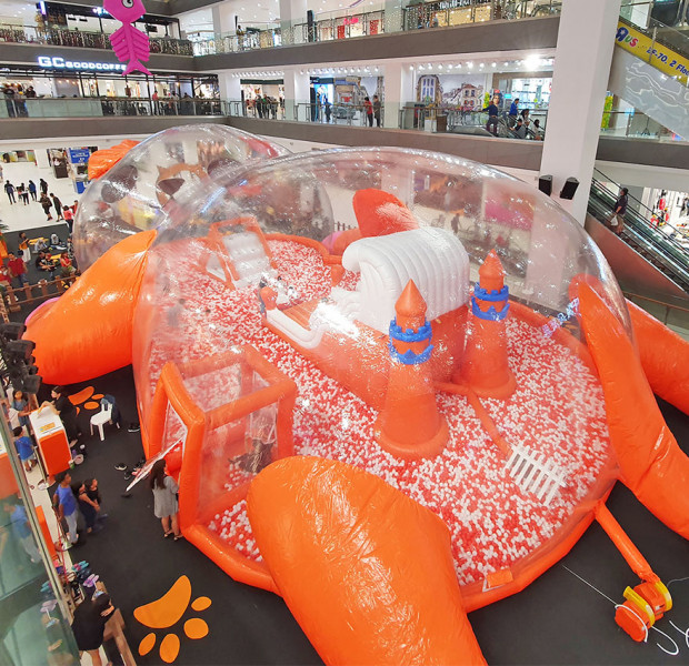 This JB mall is home to Malaysia's largest inflatable playground - but only till June 30