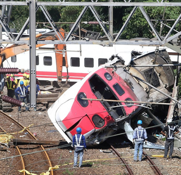 Driver charged over fatal Taiwan train derailment
