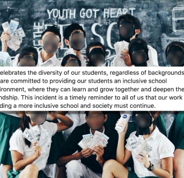 10 former RI students behind blackface group photo issue apology; school condemns their actions