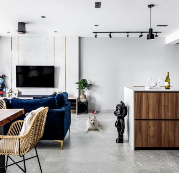 Home tour: A guest-friendly Bidadari flat mixes modern and industrial with style