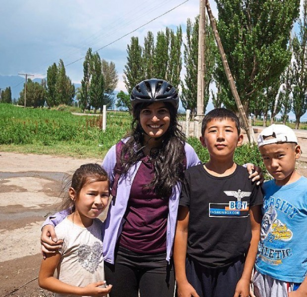 Malaysian woman cycles through 'dust and light' for 45 days along the Silk Road