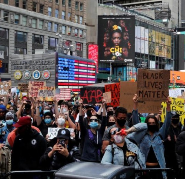New York City institutes curfew amid violent protests