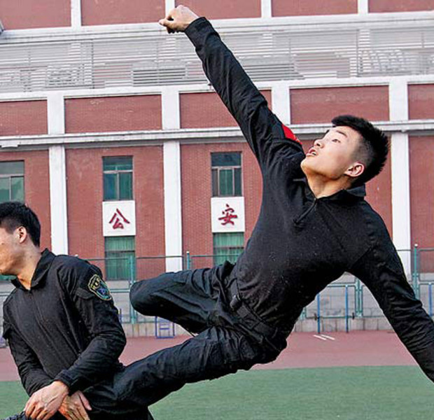 Chinese university training anti-terror specialists