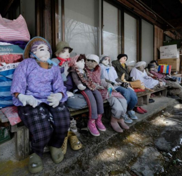 Valley of the dolls: Scarecrows outnumber people in Japanese village