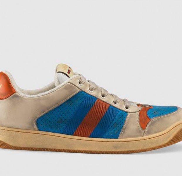 Gucci launches distressed (dirty?) sneakers for $1,200