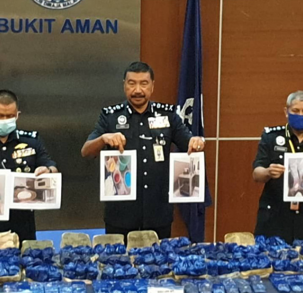 18 arrested and over $4m worth of drugs seized in Johor