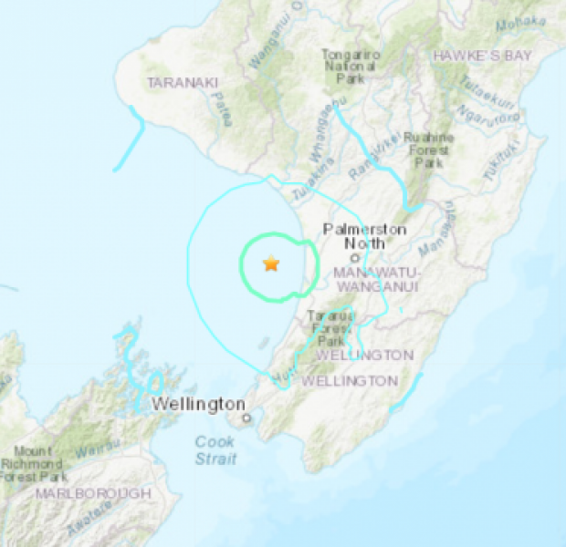 Earthquake strikes near New Zealand's capital Wellington, no immediate damage reported