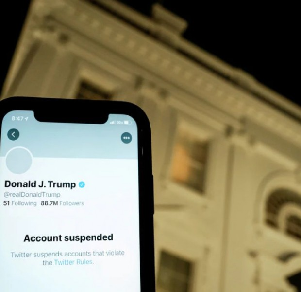 Twitter shuts down accounts for attempting to evade Donald Trump ban