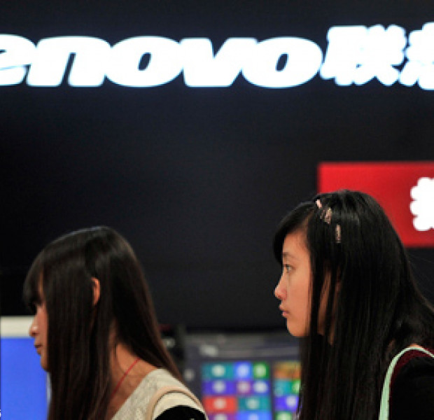 Lenovo moves up the ranks