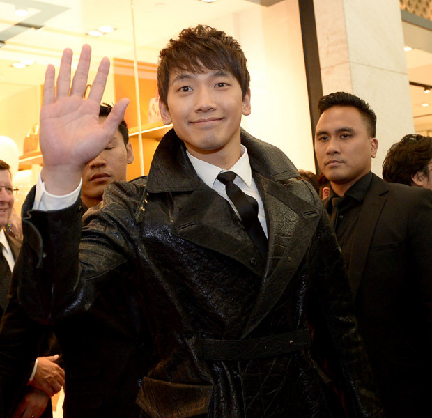 K-pop star Rain may no longer be popular in Korea, but he's still a favourite in other countries