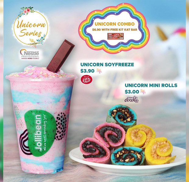 Jollibean unicorn treats, free half dozen J.CO Donuts & other deals this week