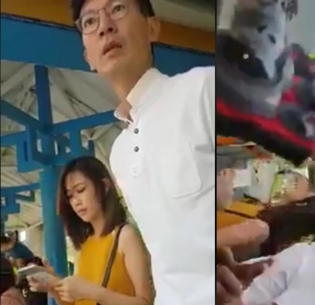 Internet condemns PMD rider who confronted couple for supposedly staring at him