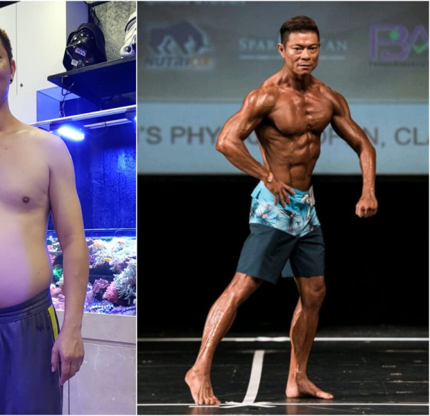 He defied death and became a bodybuilding champ after suffering a stroke