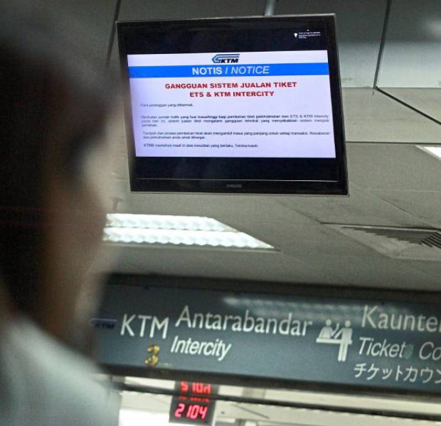 Many Malaysians hoping to get hold of KTM tickets for holiday season left frustrated