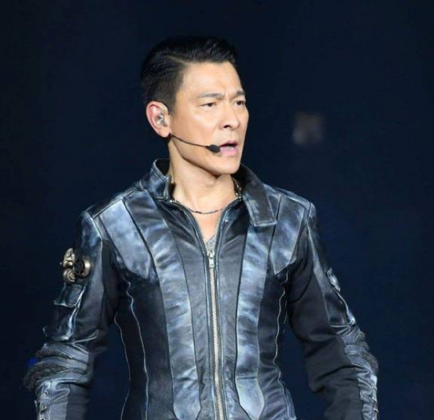 Did Andy Lau have a fight with his younger co-star?