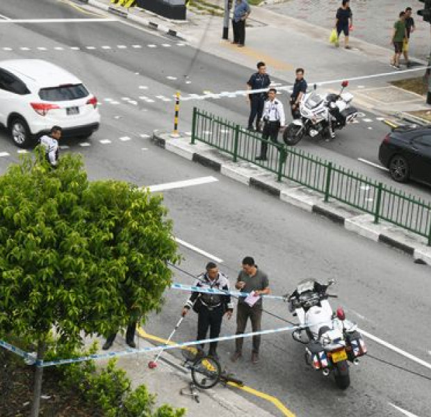 Cyclist dies after accident with car in Tampines