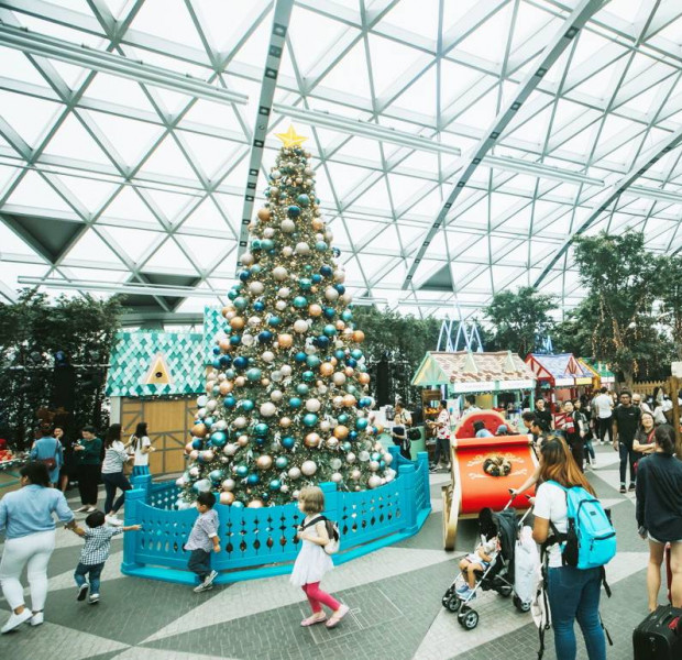 Get Frozen at Changi airport, explore Christmas villages and other free things to do in Singapore this weekend