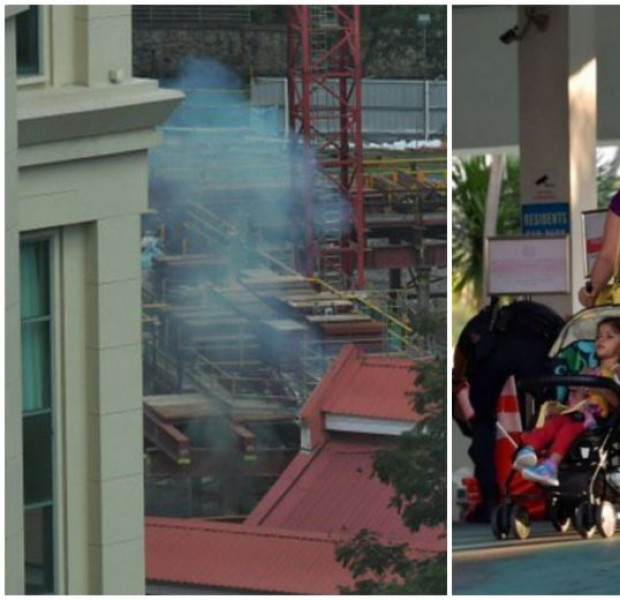 First explosion heard as WWII bomb disposal underway at former Zouk site after residents vacate area