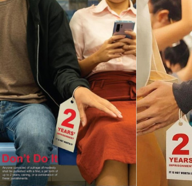 Police: Aware misunderstood anti-molestation posters