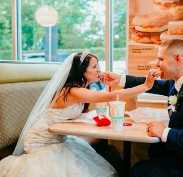 "Would you say ""I do"" to a KFC or McDonald's wedding?"