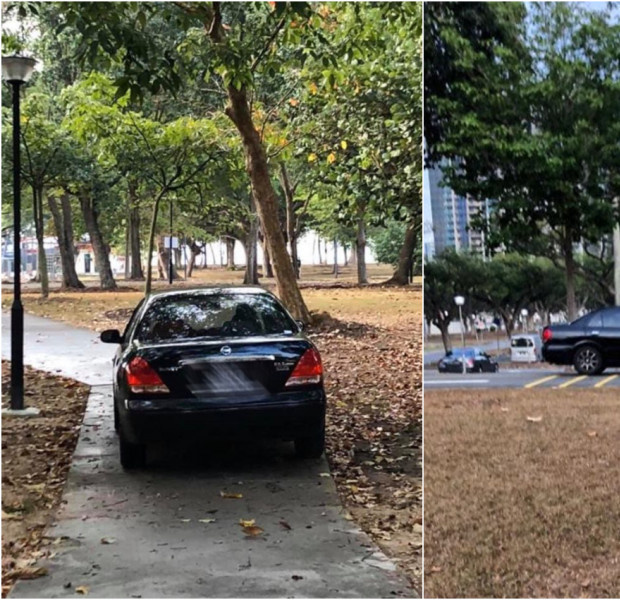 'Crazy uncle' spotted driving car along East Coast Park cycling path