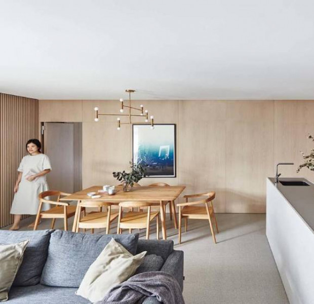 House Tour: A calming oak-toned resale HDB apartment in Sengkang