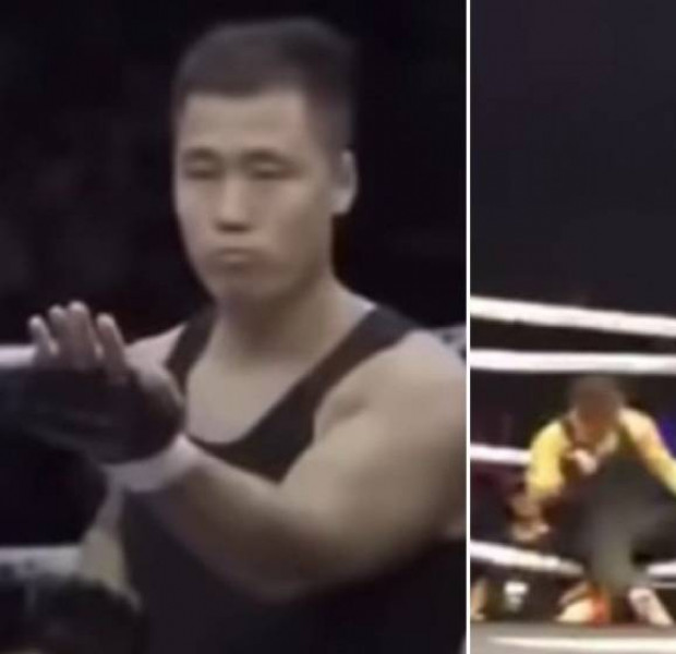 Wing chun 'master' Ding Hao taunts Chinese MMA fighter; gets knocked out in 72 seconds