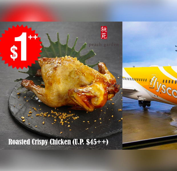 $1 Peach Garden whole chicken, $54 all-in Scoot sale & other deals this week