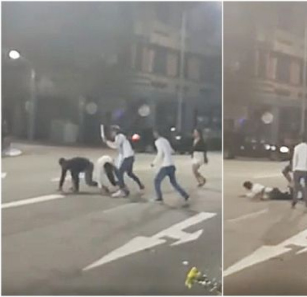 About 10 involved in fight in Tanjong Pagar, with one allegedly using a knife