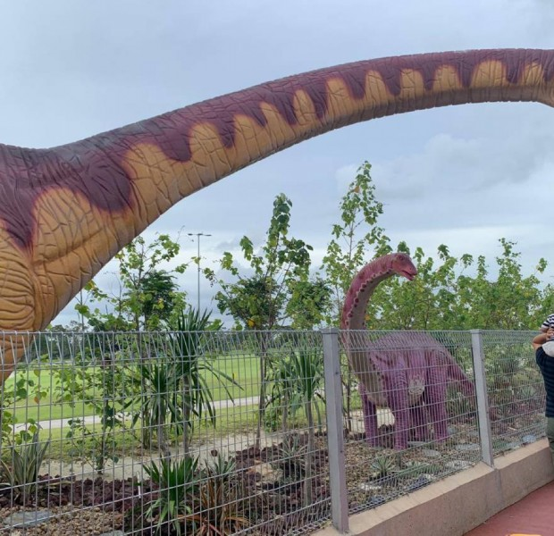 I cycled through Changi's new Jurassic Mile to ECP, but you may have to wait till November to visit on a weekend