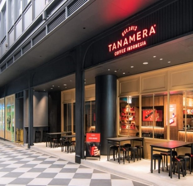 Indonesian coffee chain Tanamera Coffee open first international outlet in Singapore