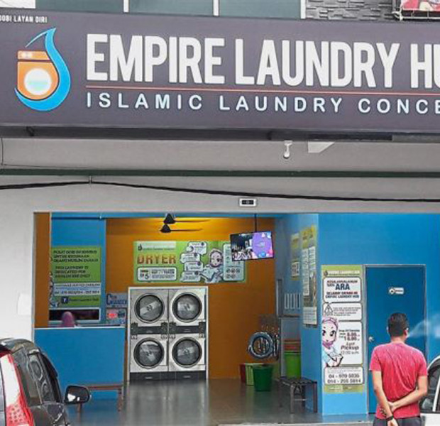 Another Muslim-only launderette found in Malaysia