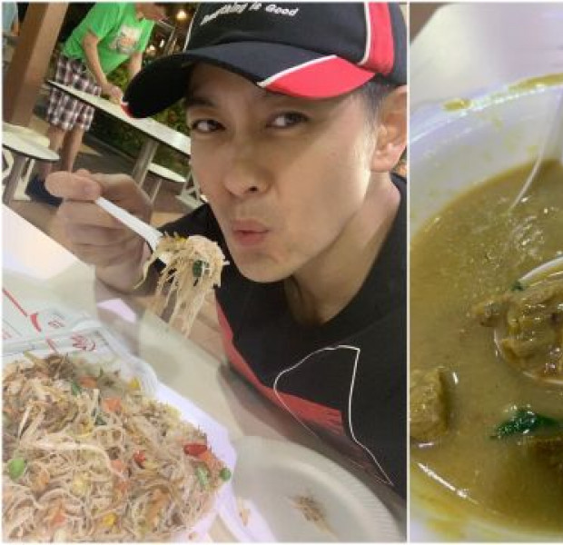Jimmy Lin catches up on F1 action, tries kambing soup at Newton