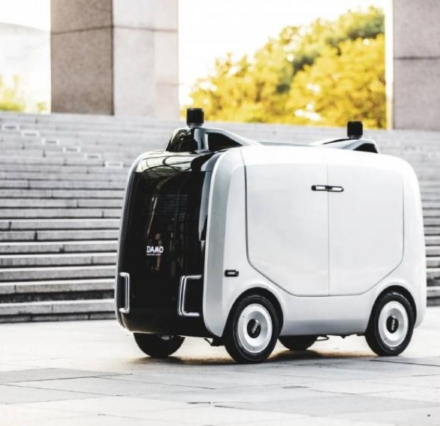 Meet 'competent donkey', a last-mile delivery robot from Alibaba